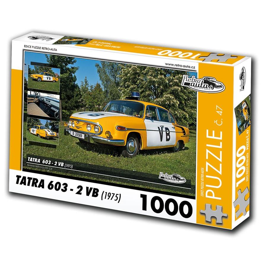 Tatra 603 - 2 VB, 1000 dílků, puzzle 47