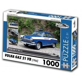Volha GAZ 21 VB, 1000 dílků, puzzle 51
