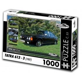 Tatra 613 - 3, 1000 dílků, puzzle 53