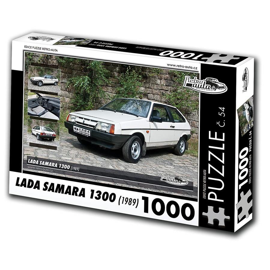 Lada Samara 1300, 1000 dílků, puzzle 54