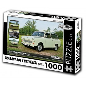 Trabant 601 S Universal, 1000 dílků, puzzle 56