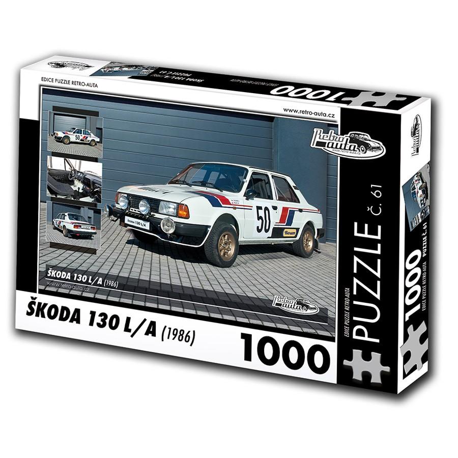 Škoda 130 LA, 1000 dílků, puzzle 61