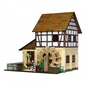 Hrázděný vodní mlýn Hobby Kit