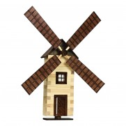 Dřevěný mlýn na stěnu