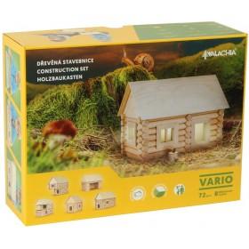 Dřevěná  stavebnice VARIO 72 dílů