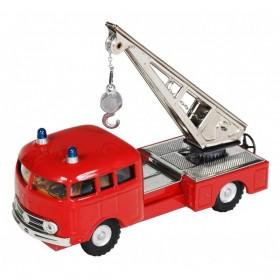 Mercedes MB 335 hasič - jeřáb