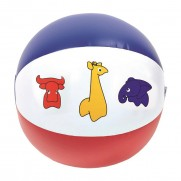 Nafukovacia lopta so zvieratkami