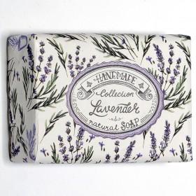 Handmade Lavender přírodní mýdlo, 200 g