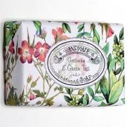 Handmade Geranium & Green Tea prírodné mydlo, 200 g