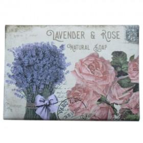 Lavender&Rose přírodní mýdlo, 200 g
