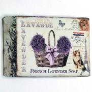 French Lavender mydlo jemné, 200 g