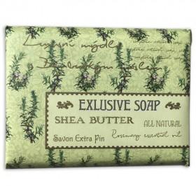 Mýdlo s bambuckým máslem - rozmarýn, 170 g