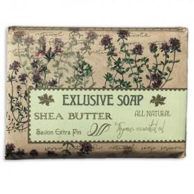Mýdlo s bambuckým máslem - mateřídouška, 170 g