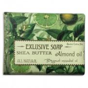 Mýdlo s bambuckým máslem - bergamot, 170 g