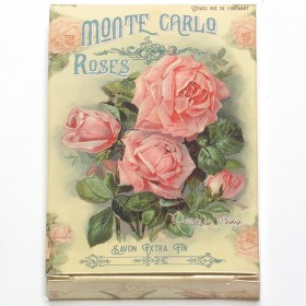 Monte Carlo Roses mýdlo jemné, 100 g