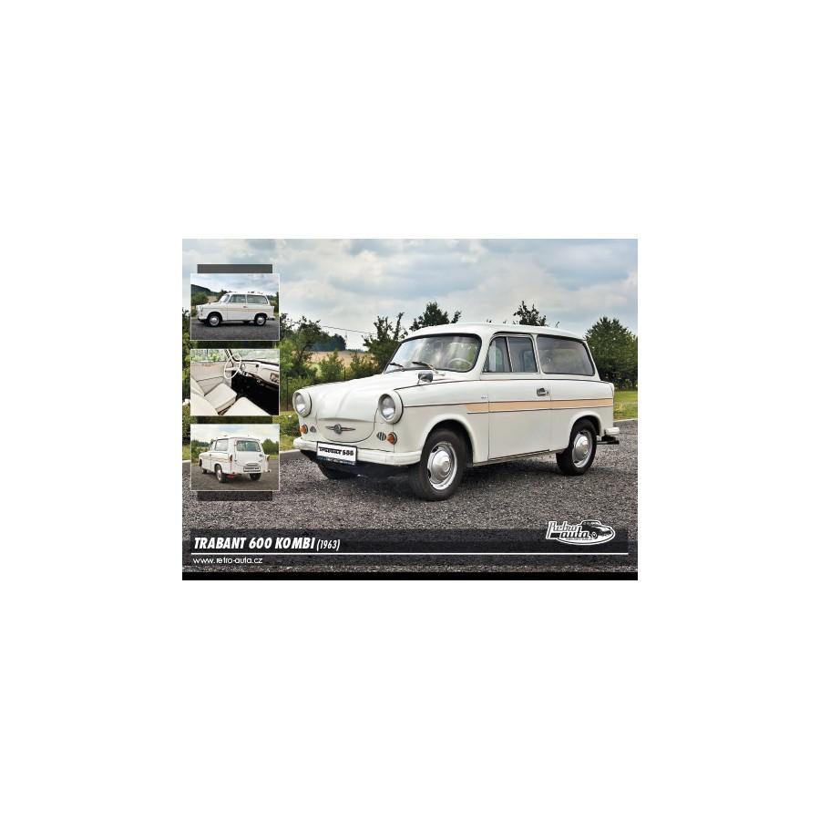 Trabant 600 Kombi, 1000 dílků, puzzle 70
