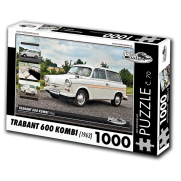 Trabant 600 Kombi, 1000 dielikov, puzzle 56