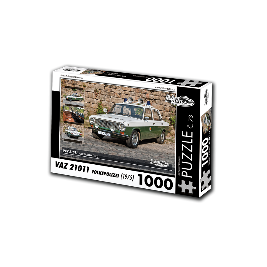 VAZ 21011 Volkspolizei, 1000 dílků, puzzle 73