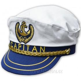Námořnická čepice kapitánská