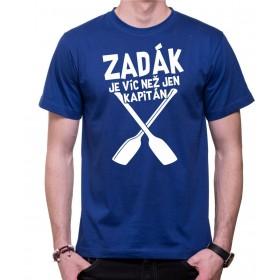 Vodácké tričko Zadák pánské modré