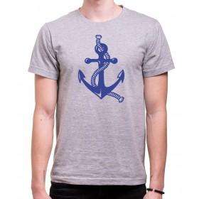 Vodácké tričko Kotva pánské šedé