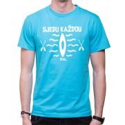 Vodácké tričko Sjedu.. pánské světle modré