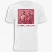Tričko ČSSR päťdesiatkorunáčka