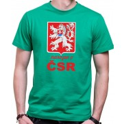 Tričko Narodený v ČSR zelené