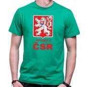 Tričko Narozen v ČSR zelená