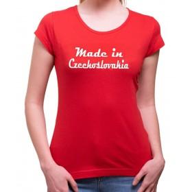 Tričko Made in Czechoslovakia dámské