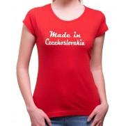 Tričko Made in Czechoslovakia dámske