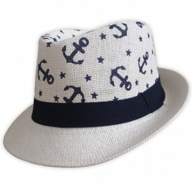 Dětský plážový klobouk s kotvami
