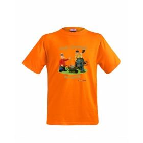 Dětské tričko Pat a Mat - Dovolená na maltě