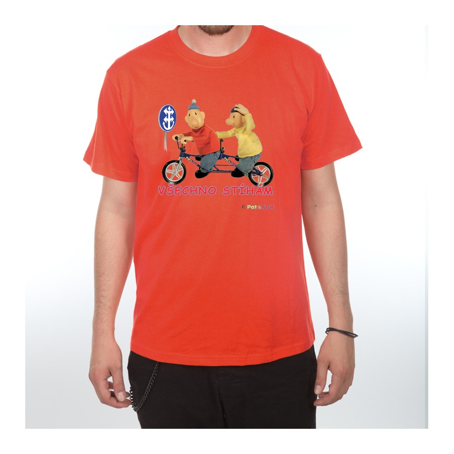 Dětské tričko Pat a Mat - Všechno stíhám