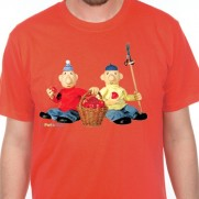 Tričko Pat a Mat - Sadaři