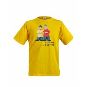 Dětské tričko Pat a Mat - A je to!