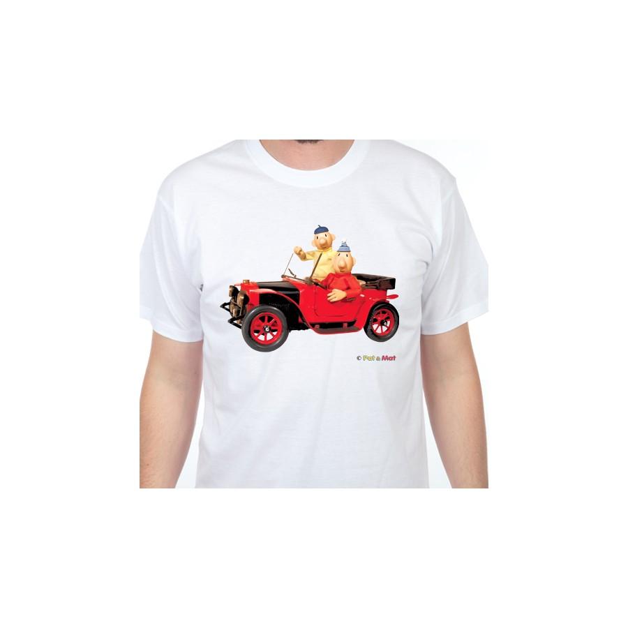 Tričko Pat a Mat - Automobil