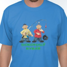 Tričko Pat a Mat - Dokonalý rybář