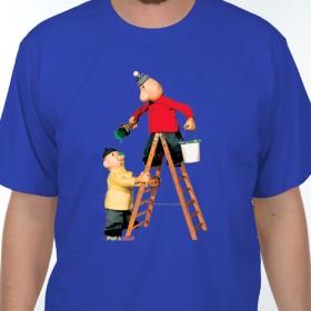Tričko Pat a Mat malují