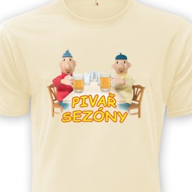 Tričko Pat a Mat - Pivař sezóny