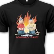 Tričko Pat a Mat - Dokonalý hasič