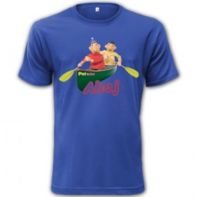 Dětské tričko Pat a Mat Ahoj
