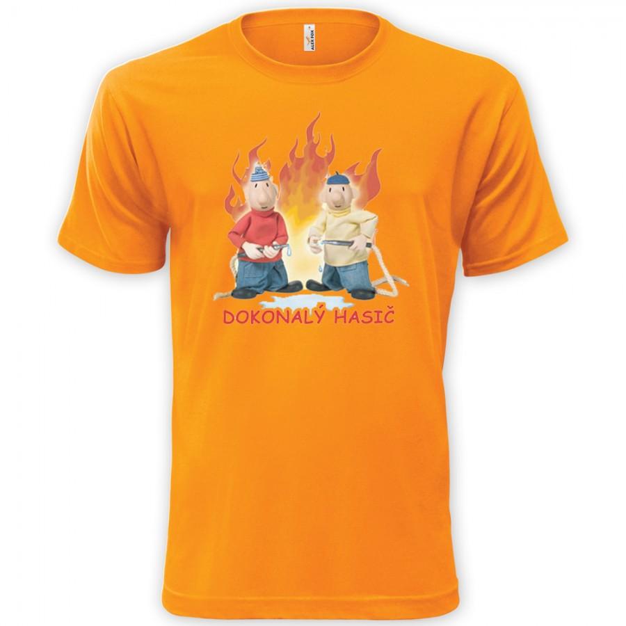 Detské tričko Pat a Mat - Dokonalý hasič