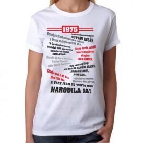 Retro tričko Můj rok dámské