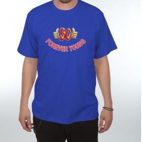 Tričko Forever Young - 50