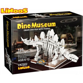 Stavebnice LiNooS Dino Museum, Stegosaurus