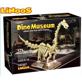 Stavebnice LiNooS Dino Museum, Brachiosaurus