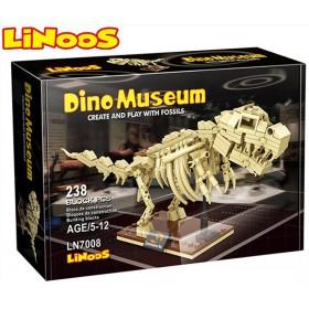 Stavebnice LiNooS Dino Museum, Tyranosaurus
