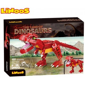 Stavebnice LiNooS Dino Land, Tyranosaurus