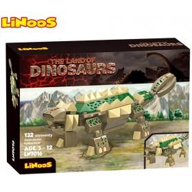 Stavebnice LiNooS Dino Land, Struthiosaurus